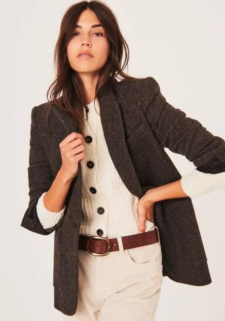 French Clothing Brand Ba&sh Parisian Style Jacket Paris Chic Style