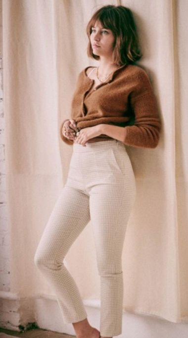 French Clothing Brand Parisian Style Pants Paris Chic Style Sezane