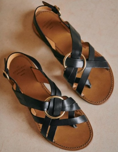 Sezane Affordable Flat French Shoes Brand French Sandals Parisian Style Shoes Paris Chic Style What To Wear In Paris