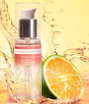 Best Self Tanner For Face Body St Tropez Self Tan Purity Vitamins Bronzing Water Face Serum Paris Chic Style