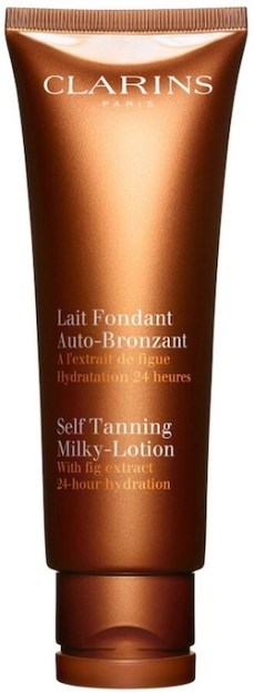 Clarins Best Self Tanner For Face Body Moisturizing Milky Lotion Fake Tanner Paris Chic Style