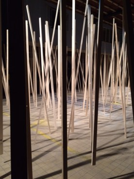 Zimoun's sound installation