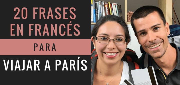 20 frases en francés para viajar a París