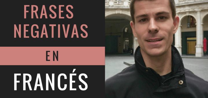 frases negativas en francés