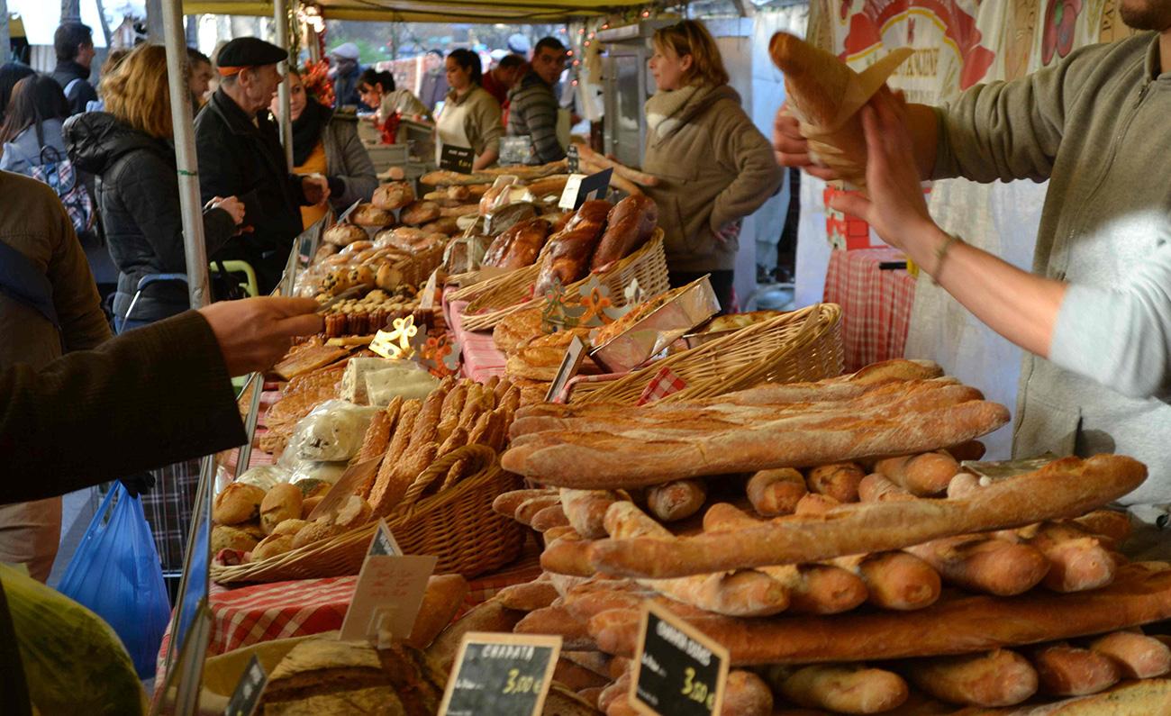 Image result for paris bread market