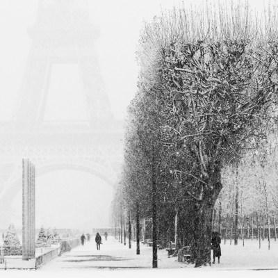 Les 3 activités à ne pas manquer à Paris quand il neige