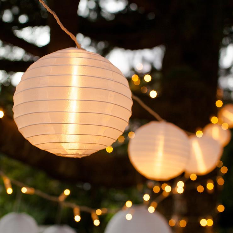 Thème-mariage-champêtre-guirlande-lumineuse