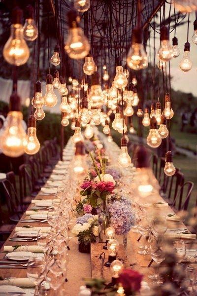 Thème-mariage-vintage-table-lumière-nuit