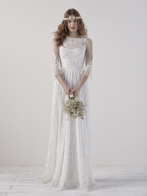 robe-droite-pronovias