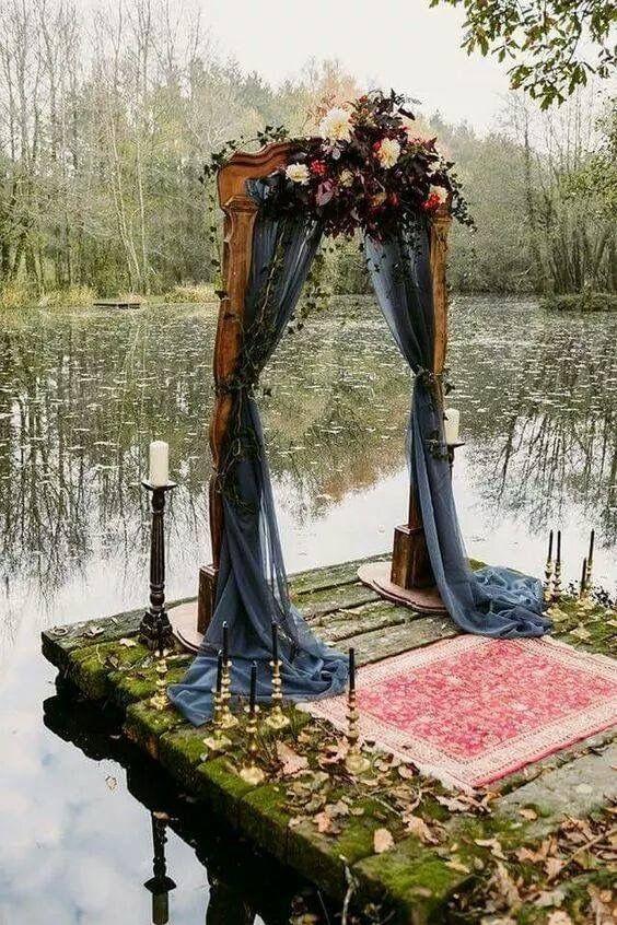 Mariage-gothique-cérémonie