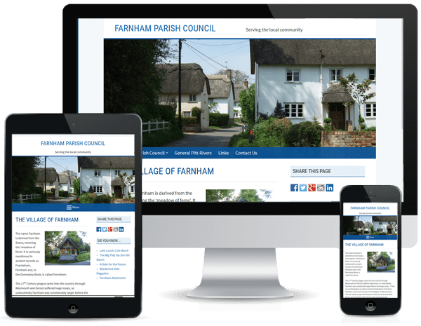 Parish Council Websites - Farnham PC