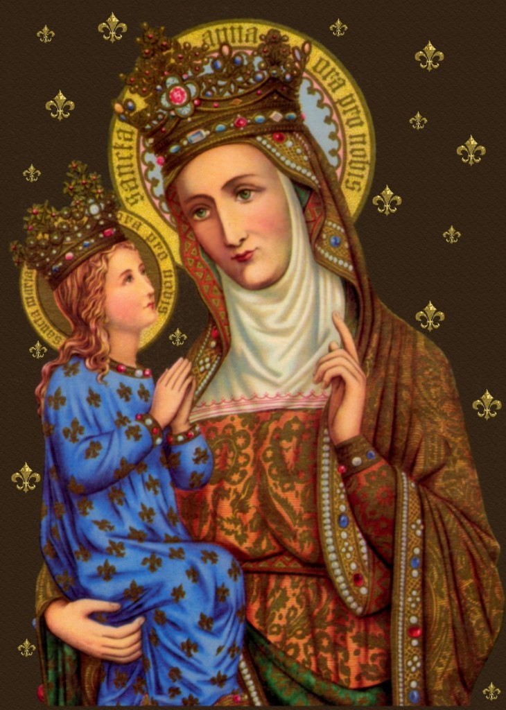 Catholic Patron Saint Anne