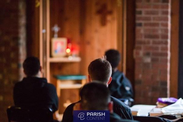 Seminarians In Adoration