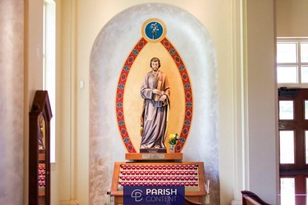 Church Interior Saint Marks In Huntersville Nc