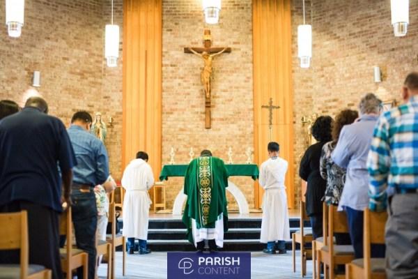 Praying During Mass