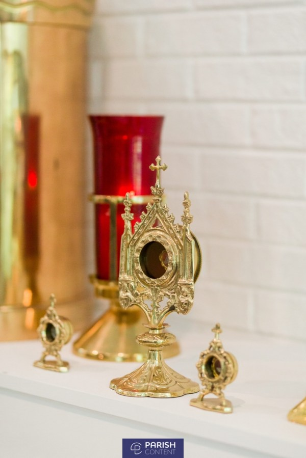 Relics On Altar