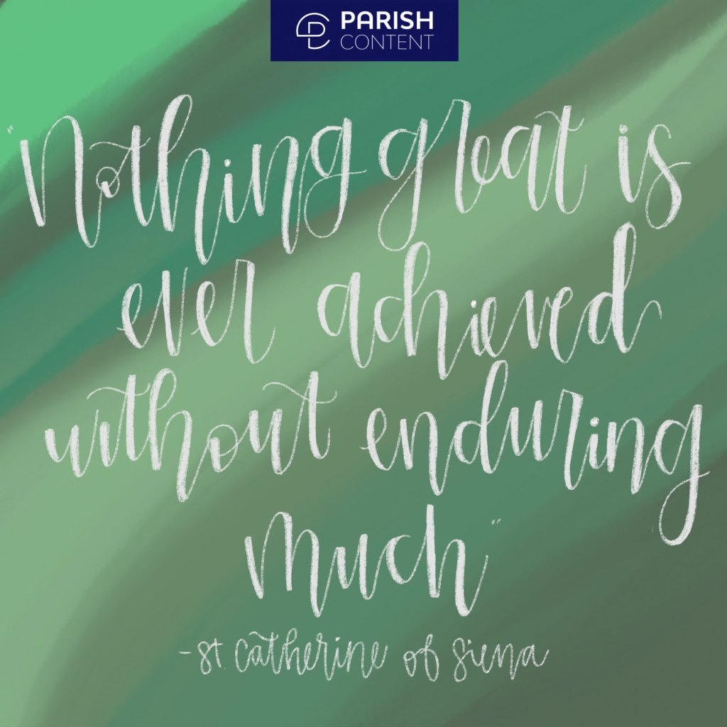 Nothing Great Is Ever Achieved Without Enduring Much