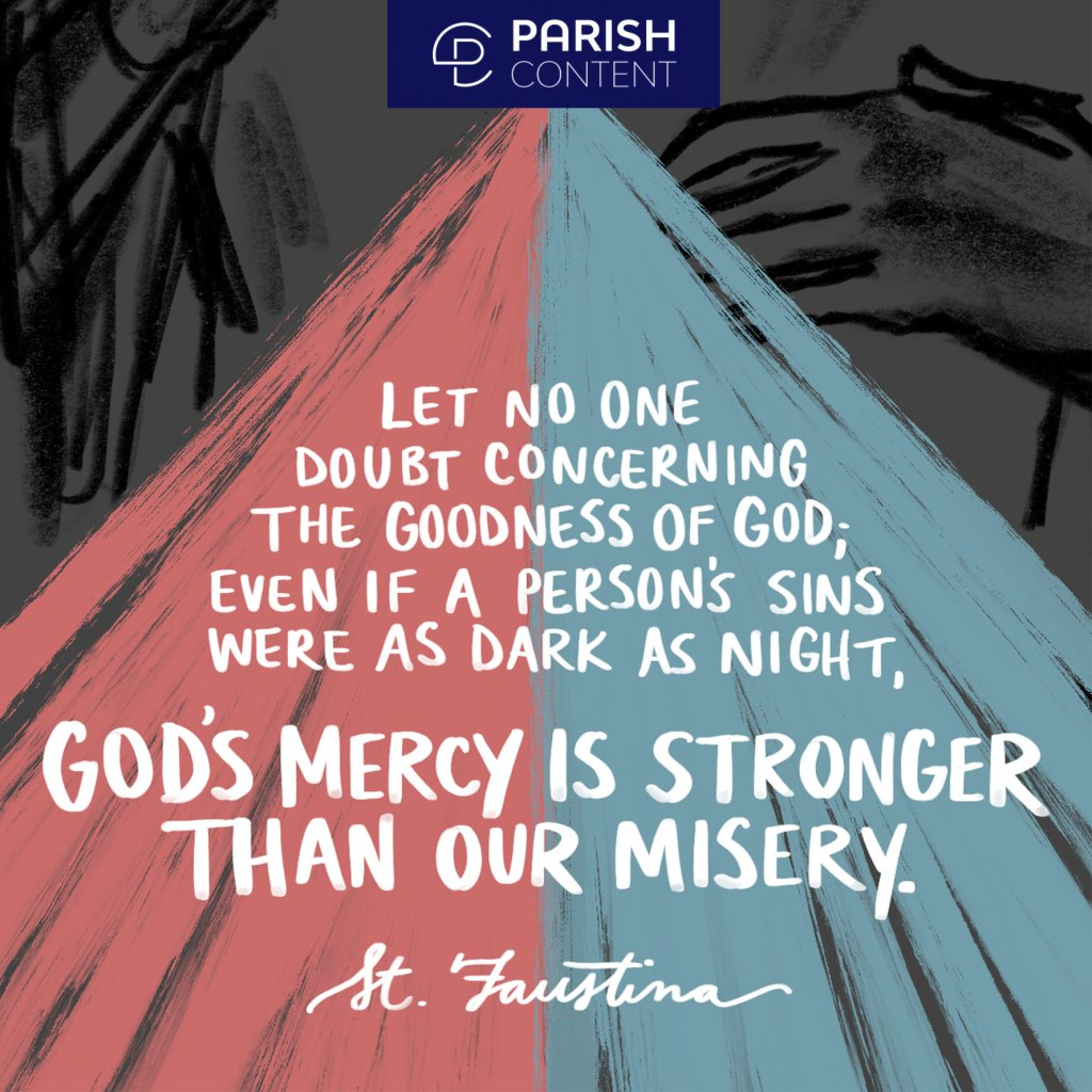 God S Mercy Is Stronger Than Our Misery