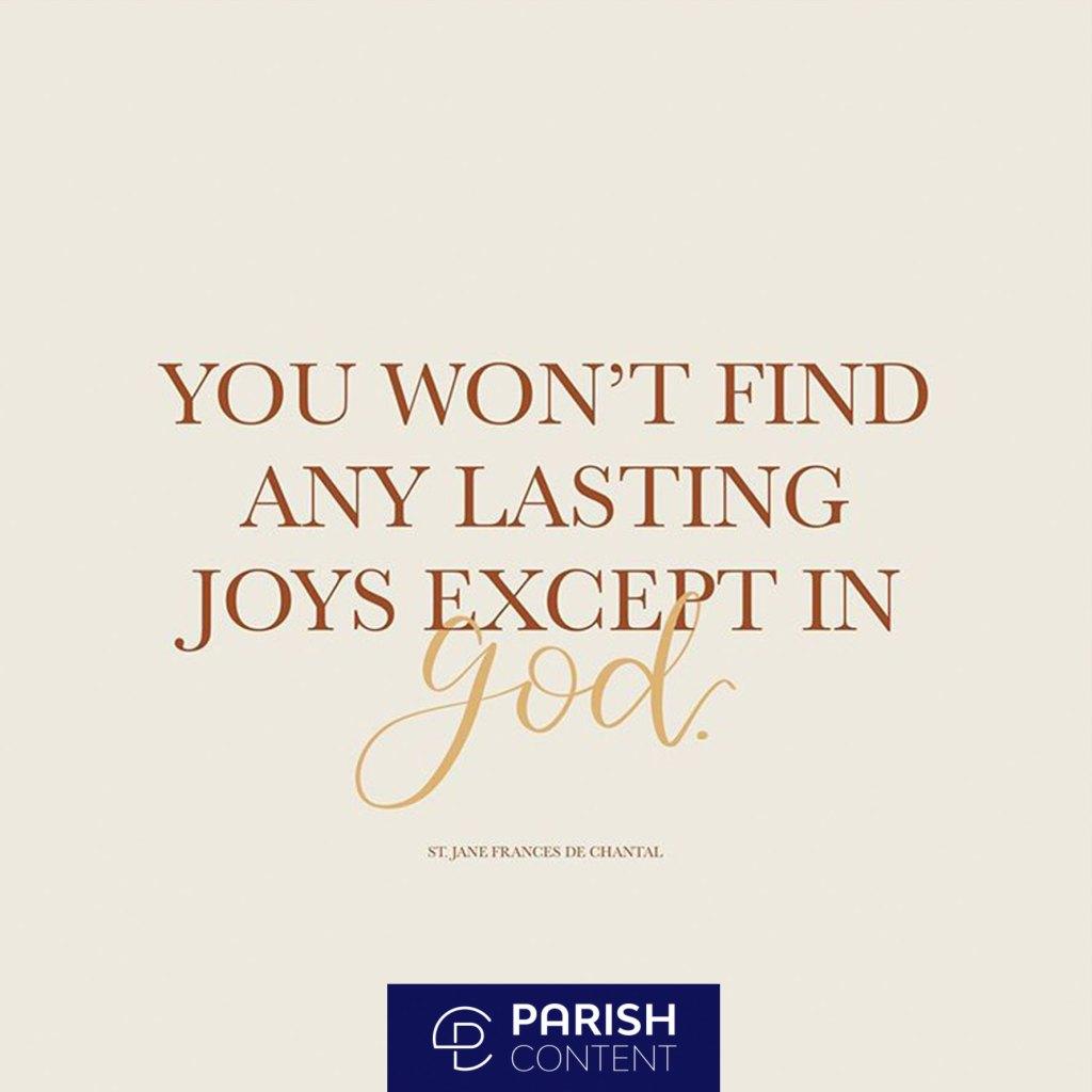 Find Joy In God