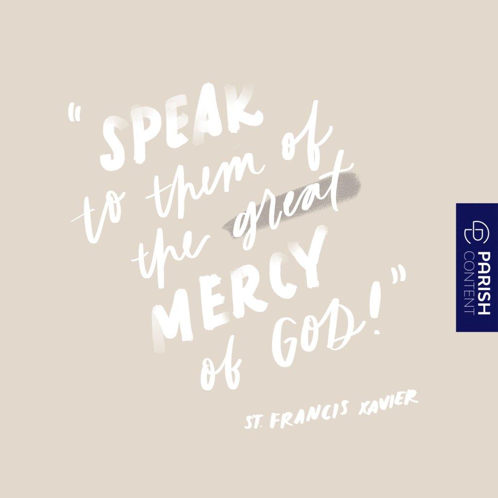 St Francis Xavier Feast Day