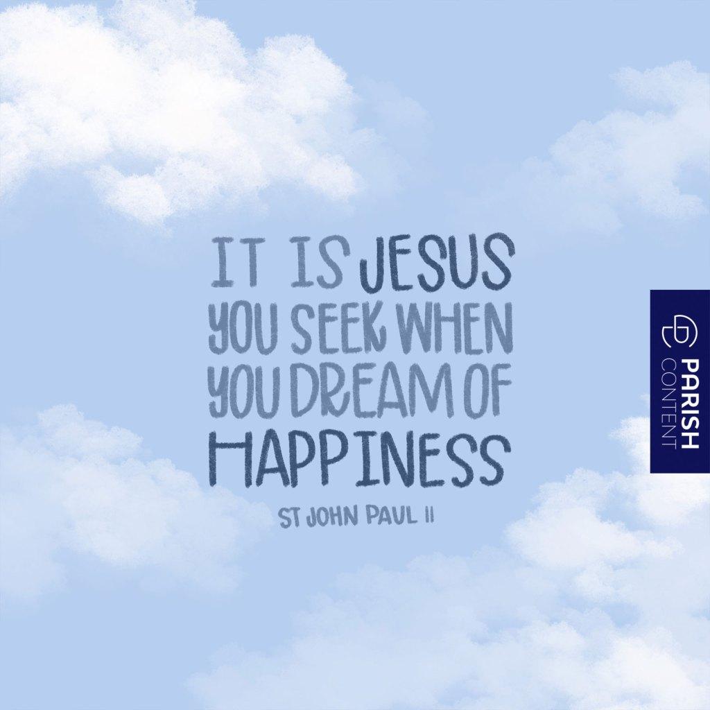 It Is Jesus You Seek