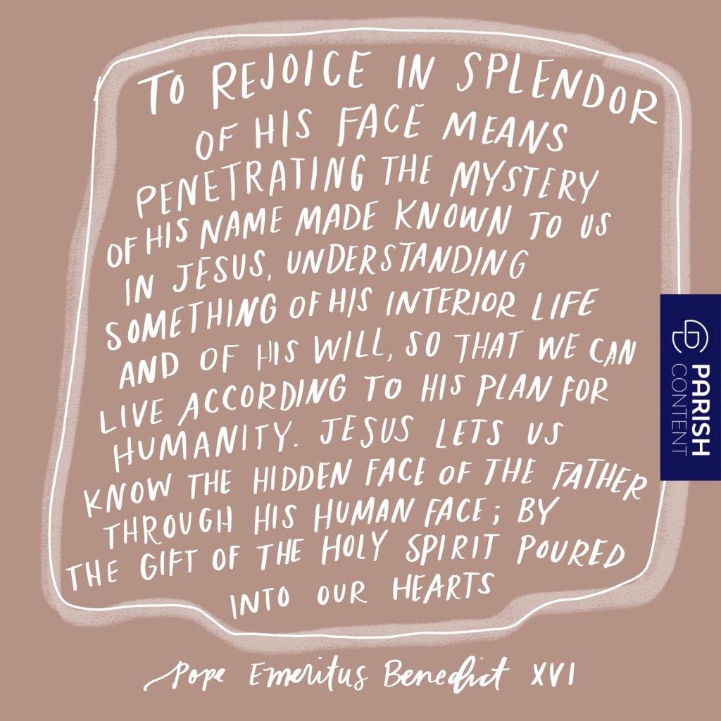 Rejoice In The Splendor
