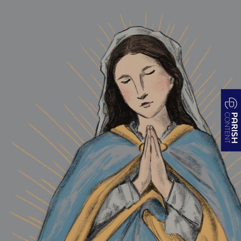 Socialpost Hail Mary Full Of Grace