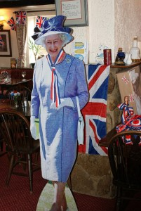 The Queen at the White Horse