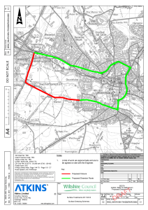 A3094 nightly road closures, starting 21st September