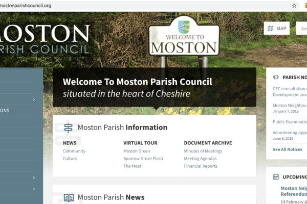 Moston Parish Council Website