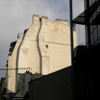 Tracing the tracks of Paris chimneys