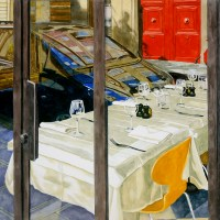 Richard Ewen: A Texas Artist Whose Watercolours Capture Paris