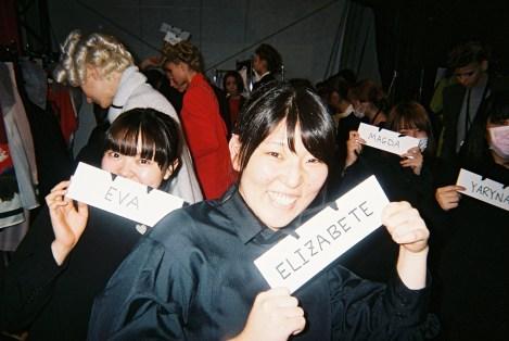 Sacai Undercover show Tokyo