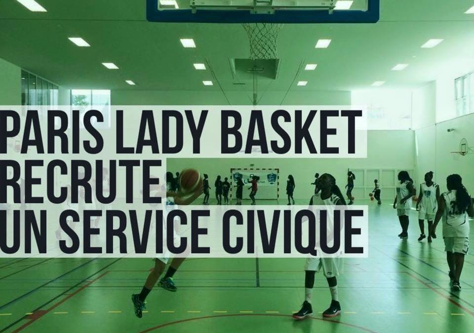 Le Paris Lady Basket recrute un service civique