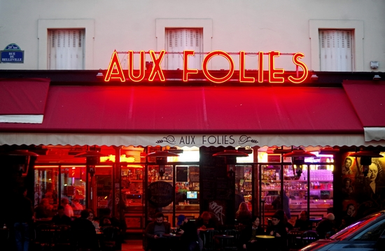 Paris Lights Up Aux Folies