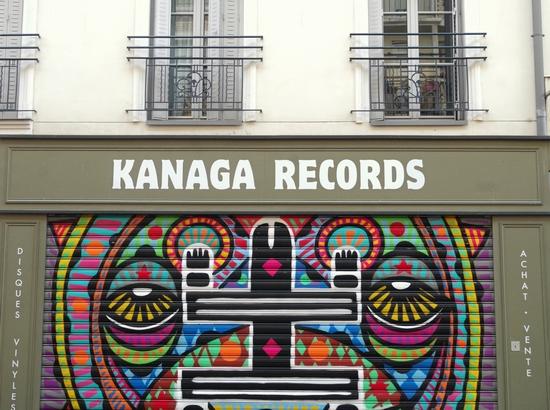 Kanaga Records Paris Lights Up
