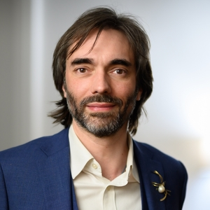 Cédric Villani Portrait Light