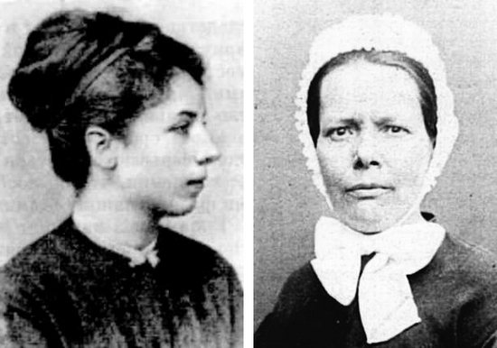 Nathalie Lemel et Élisabeth Dmitrieff