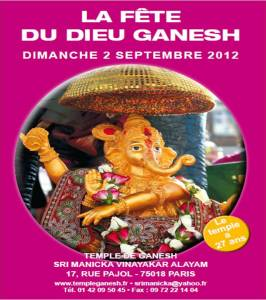 Fête du dieu Ganesh