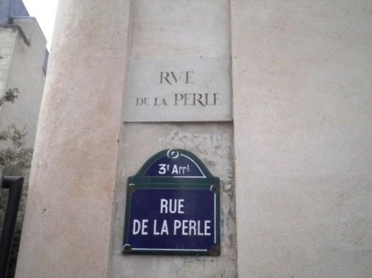Rue de la Perle