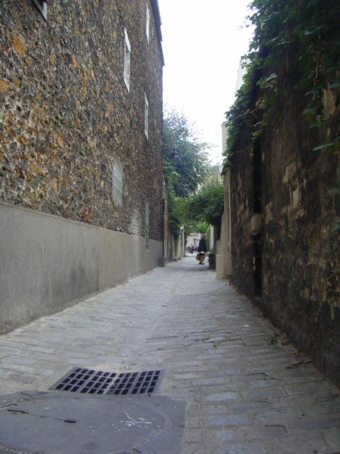 Passage des soupirs et ses escaliers