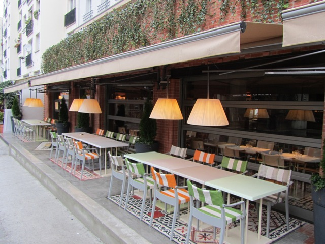 Restaurant ma cocotte la touche philippe starck saint ouen - Ma cocotte restaurant paris ...