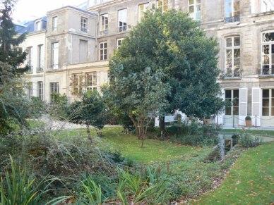 Jardins des hôtels de Soubise et de Rohan (2)