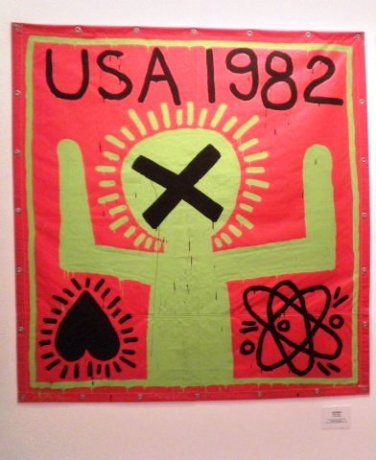 KEITH HARING THE POLITICAL LINE MAM PARIS