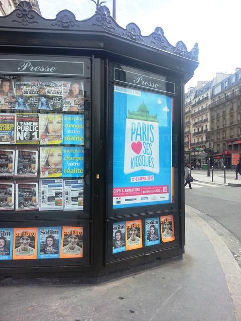 Paris aime ses kiosques