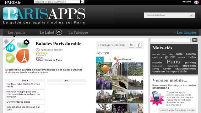 Balades Paris Durable