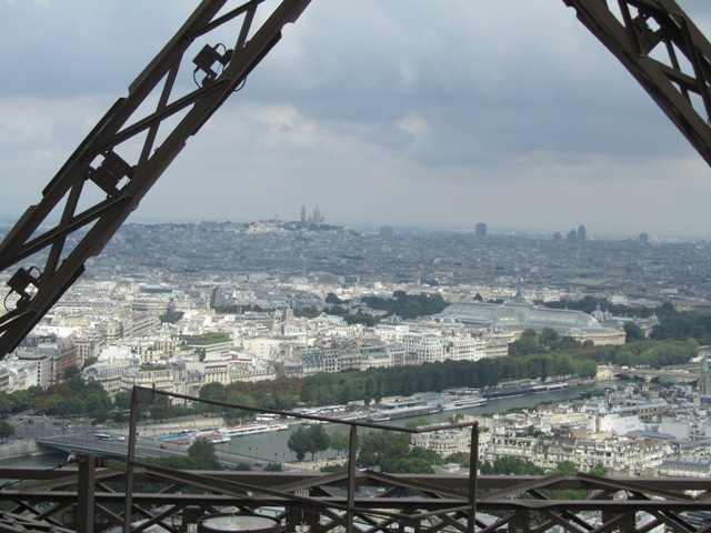 Paris Vue de la Tour Eiffel