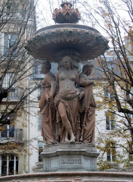 Fontaine Louvois - Paris
