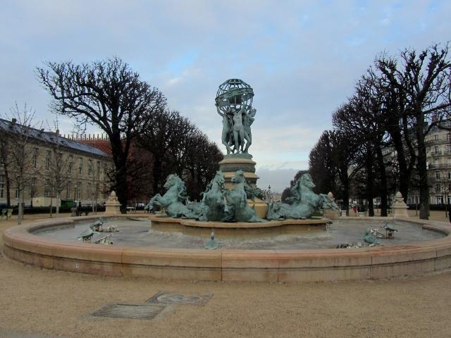 La Fontaine des Quatre Parties du Monde