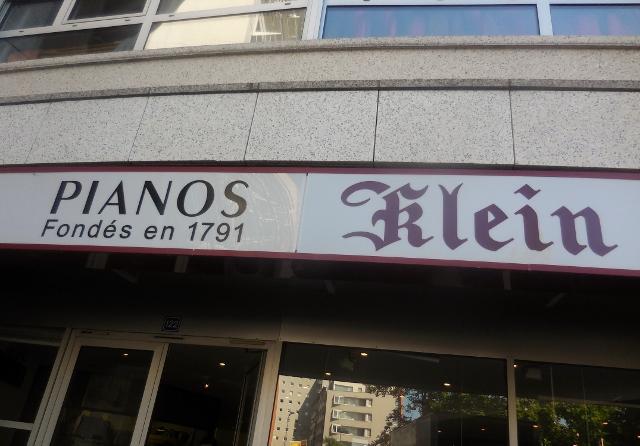 Pianos Klein